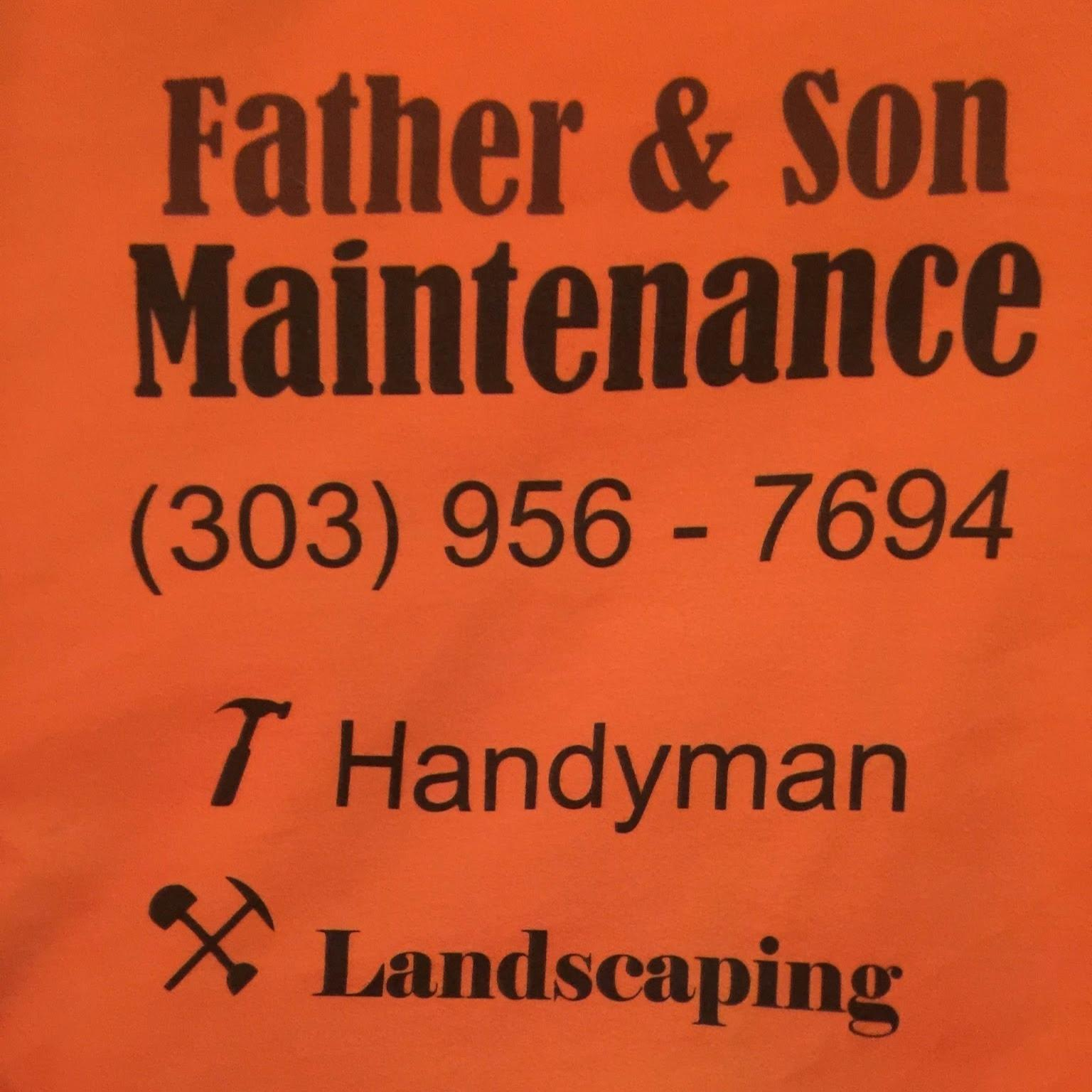 Father and Son Maintenance