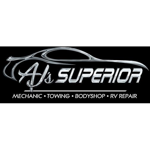 AJ's Superior Towing, Mechanic, Body Shop, RV Repair
