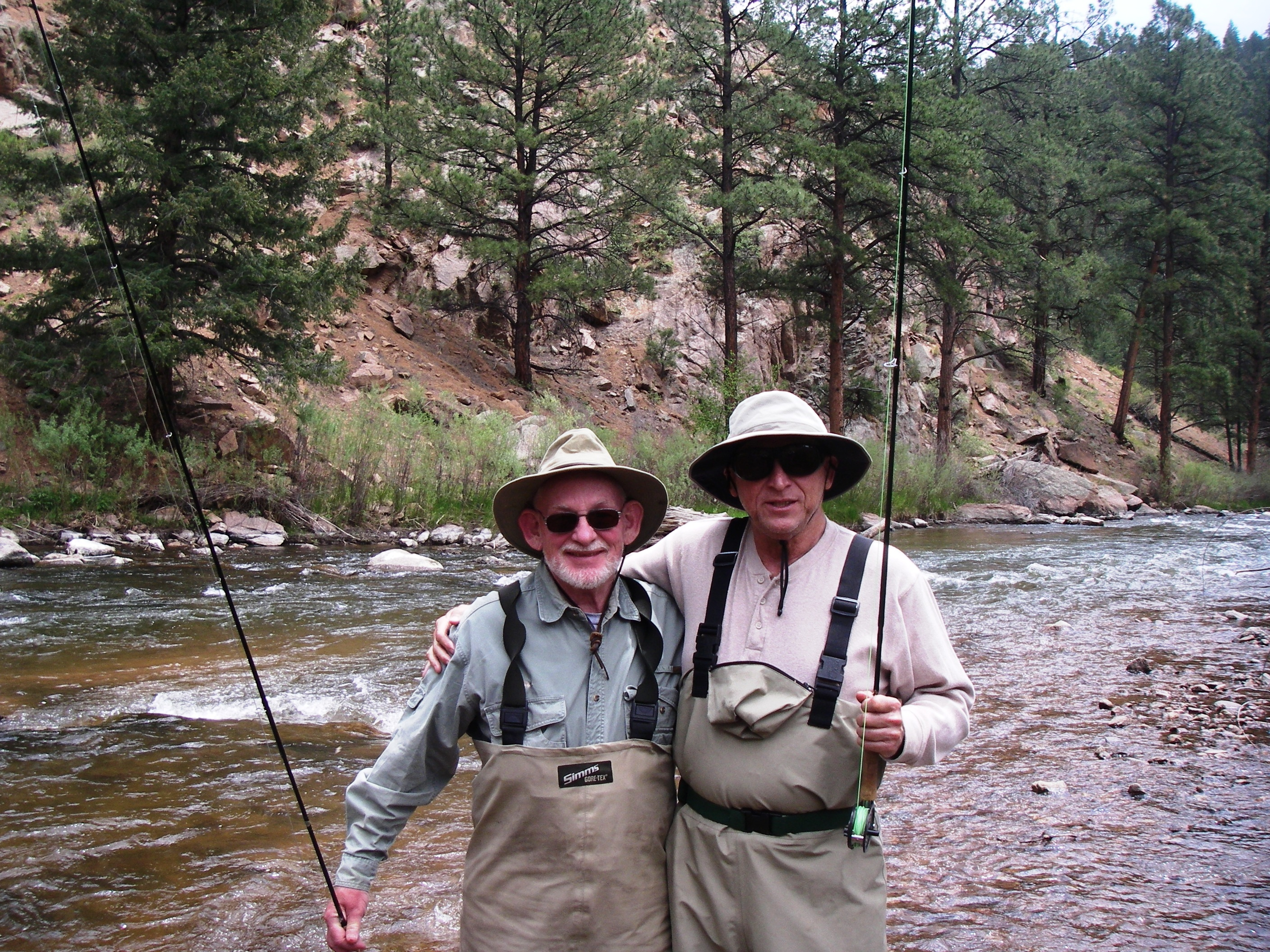 Colorado trout hunters fly fishing guides littleton for Colorado fishing trips