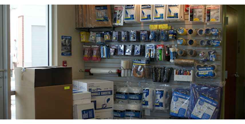 Packing & Moving Supplies Sold On Site