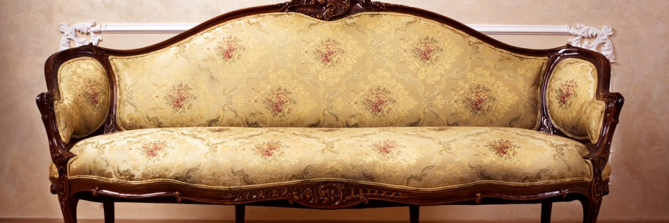Classic french sofa Upholstered