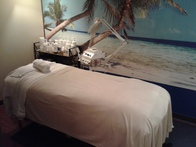 Pamper yourself with a variety of relaxing spa treatments like peels, scrubs, body wraps, and waxing services.