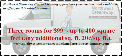 Northwest Steamway Carpet Cleaning