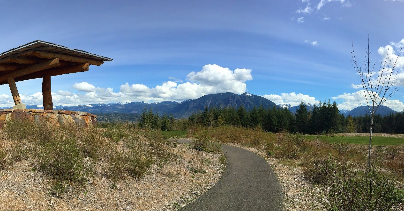 REI Campout Overlooking Mt Si