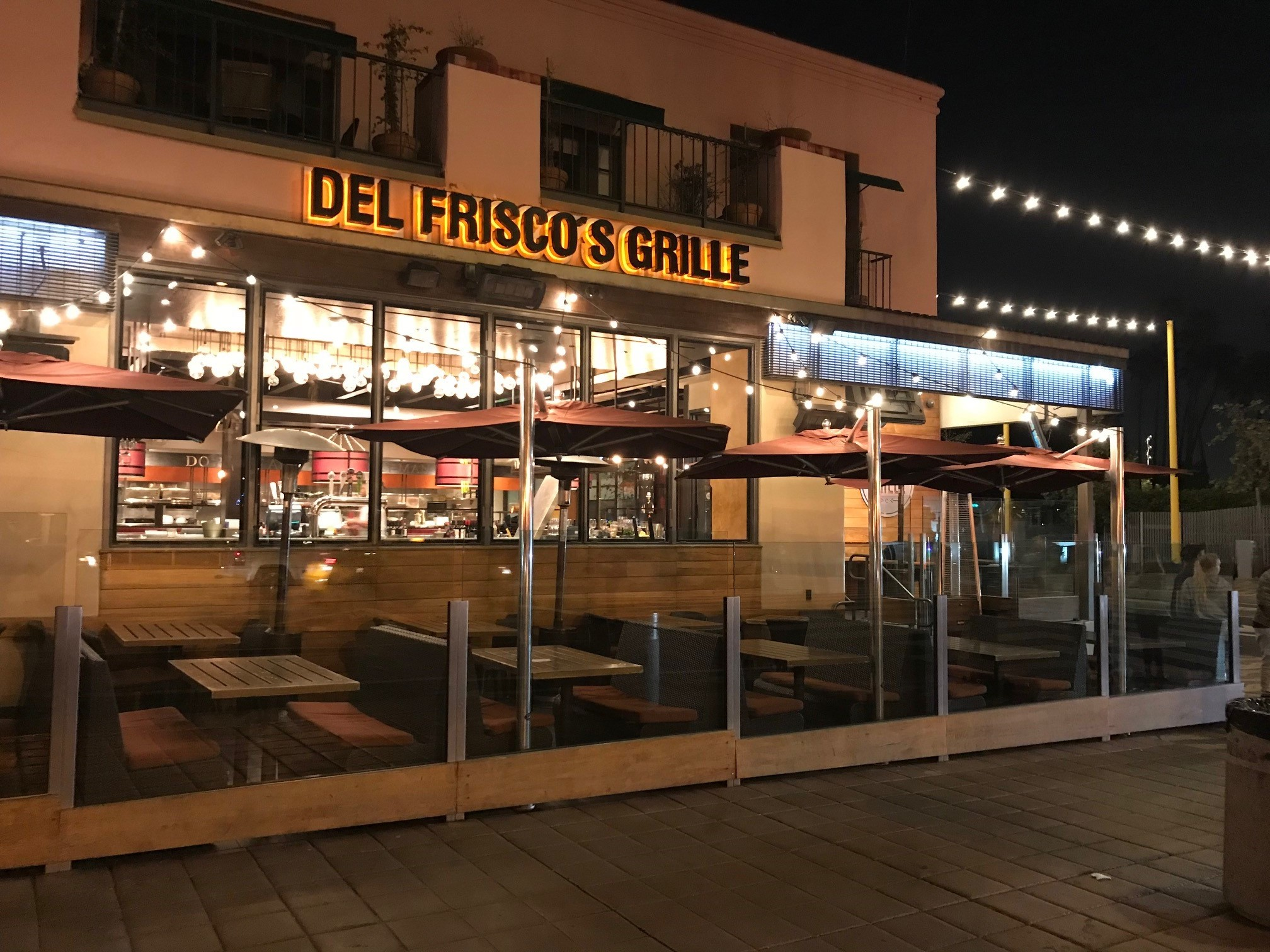 Del Frisco's Grille Santa Monica Cellar & VIP Patio Combined group dining room