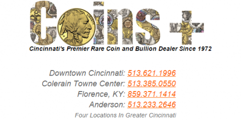 Coins Plus In Florence Ky 41042