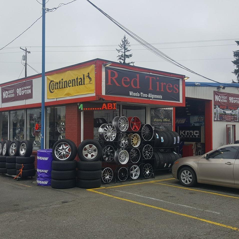 Red Tires