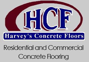 Harvey's Concrete Floor CO logo