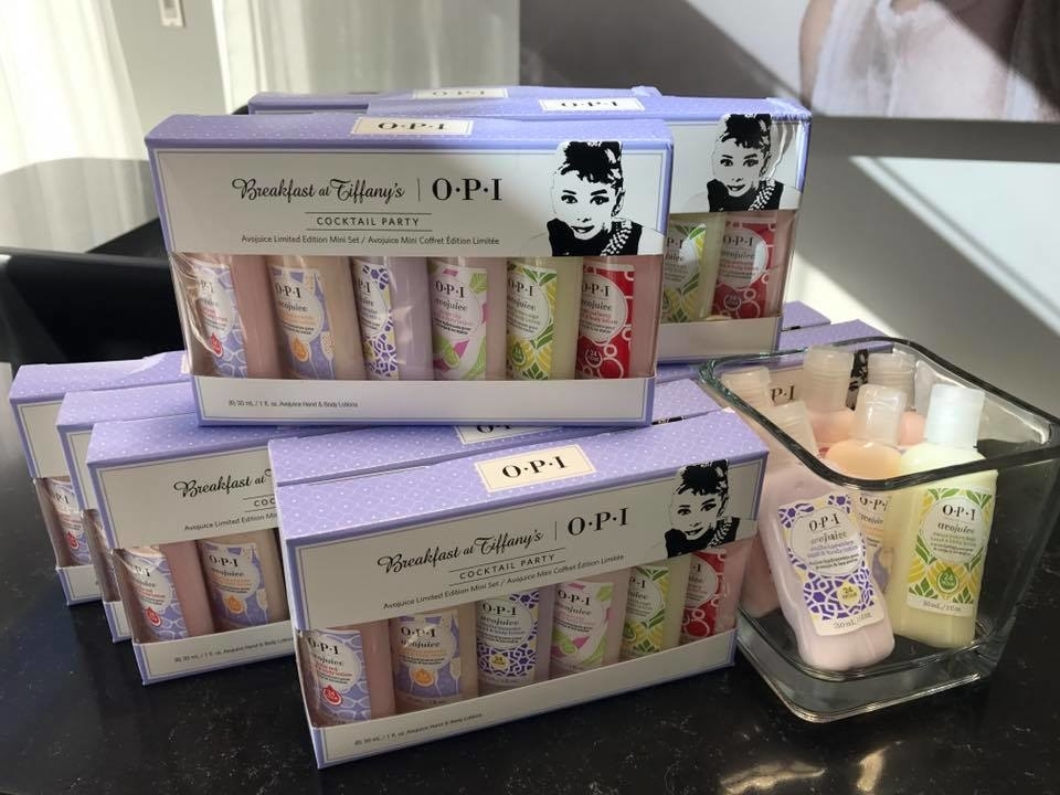 Wispers Hair & Day Spa in Cambridge: OPI Lotions
