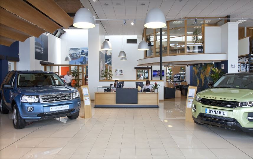 Guy Salmon Land Rover Sheffield