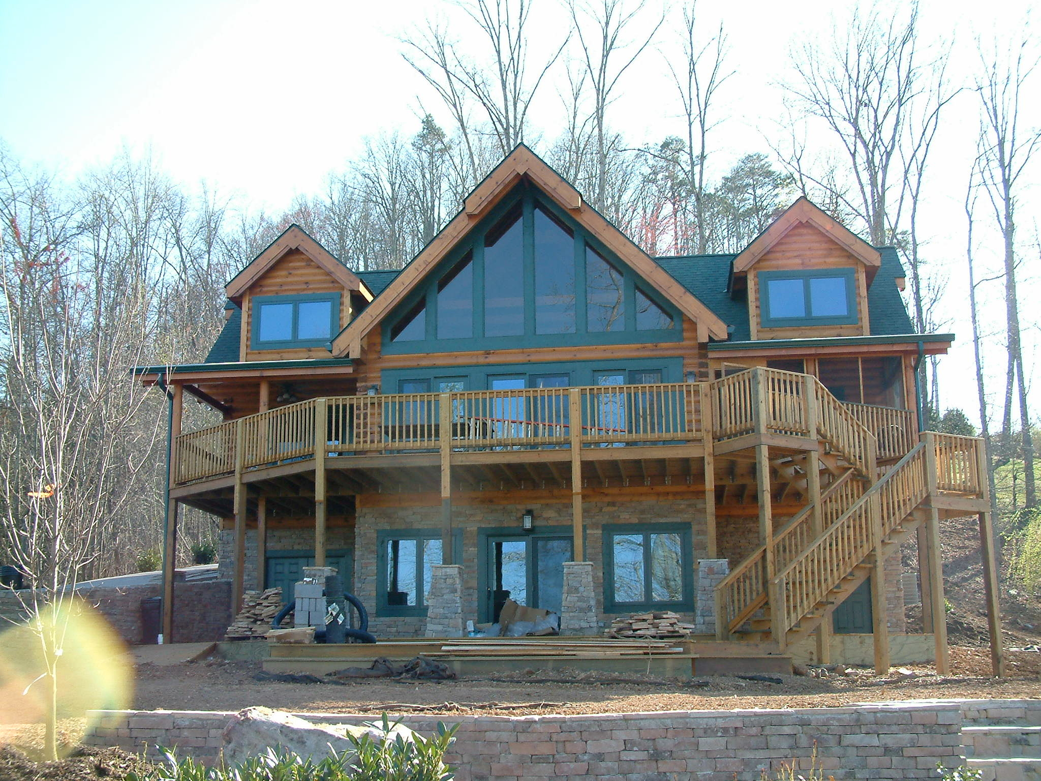 Custom Timber Log Homes image 21