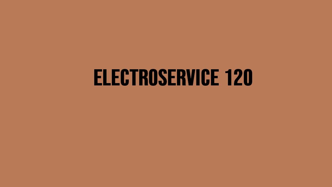 ELECTROSERVICE 120