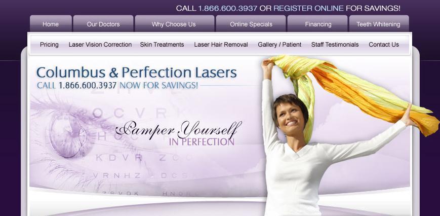 Columbus & Perfection Lasers - Harrisburg, PA - Columbus & Perfection Lasers | LASIK and Skin Care for Philadelphia, Wilkes-Barre, and Harrisburg, Pennsylvania