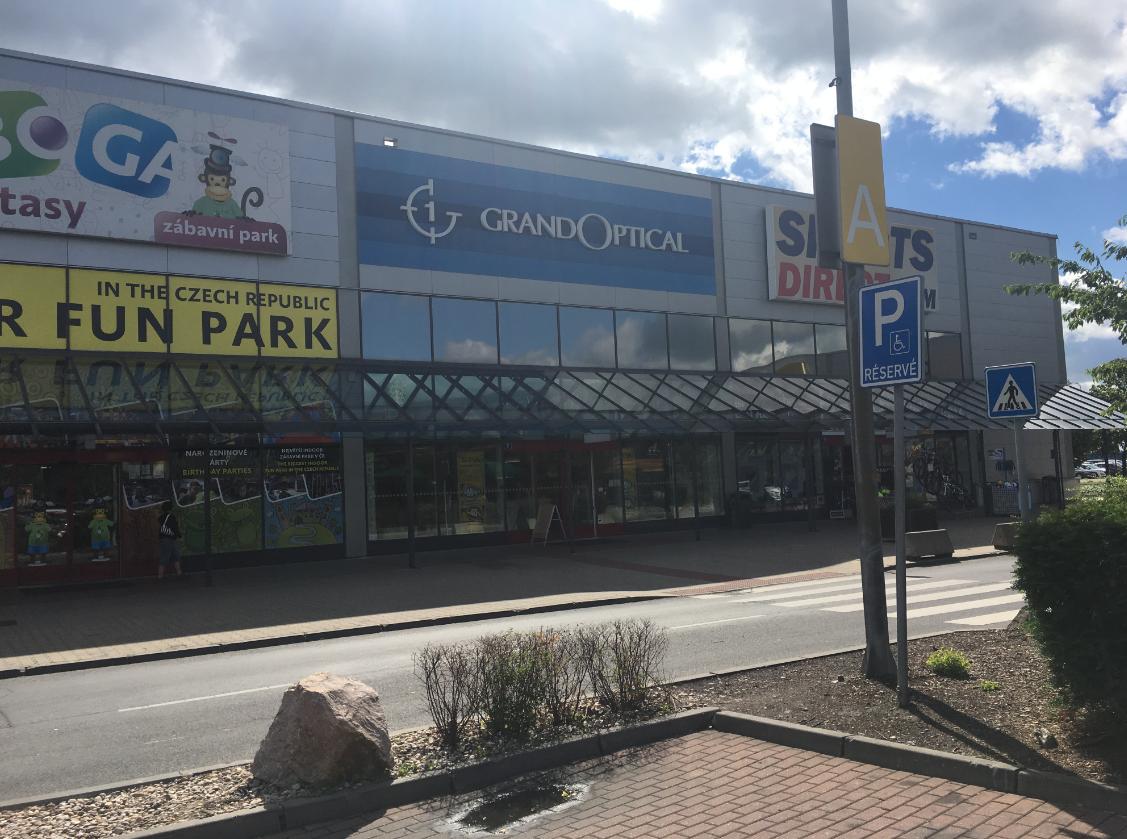 GrandOptical - oční optika Avion Shopping Park Zličín
