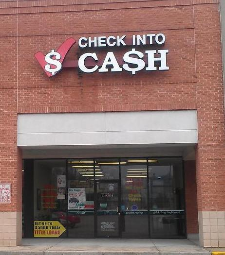 Check Into Cash is a