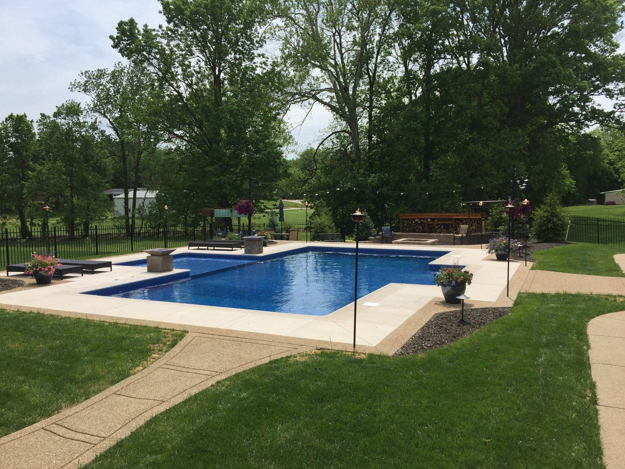 Rpm construction pools evansville indiana in for Local pool contractors