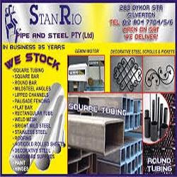 Stanrio Pipe & Steel (Pty) Ltd