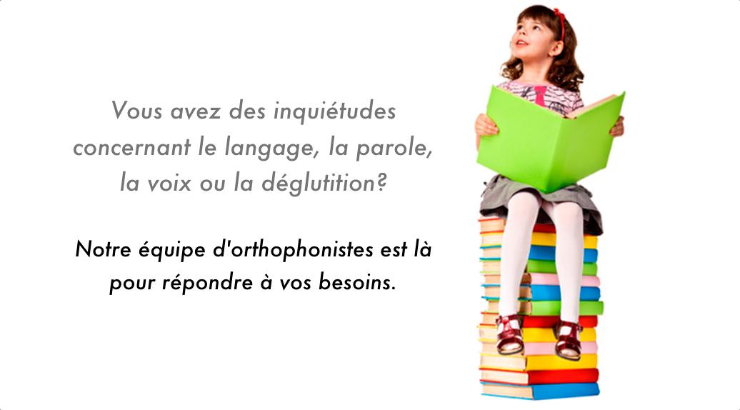 Clinique d'Orthophonie Québec à Québec