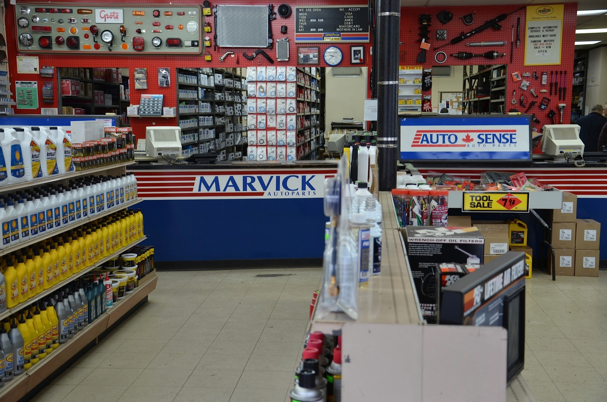 Marvick Automotive Supply Ltd