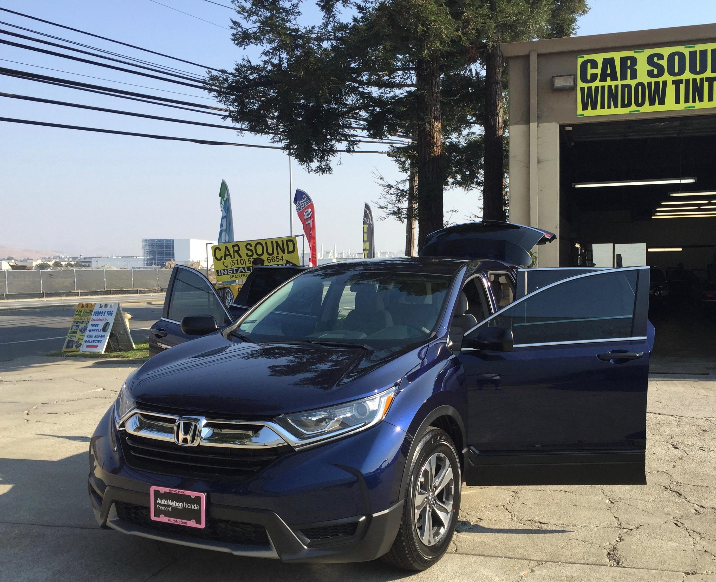 Car Sound Security Amp Safety Window Tinting In Fremont