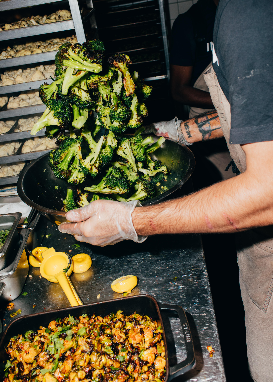 Charred Broccoli With Lemon