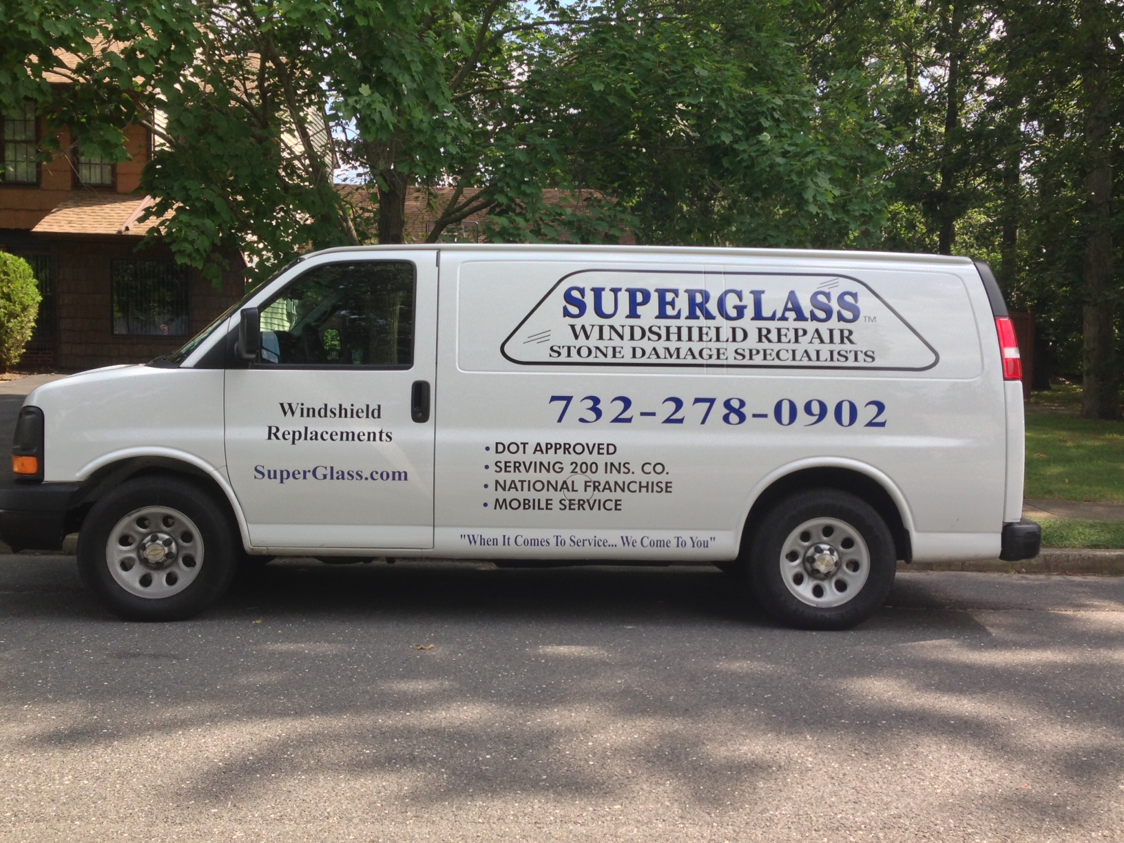 Superglass Windshield Repair - ad image