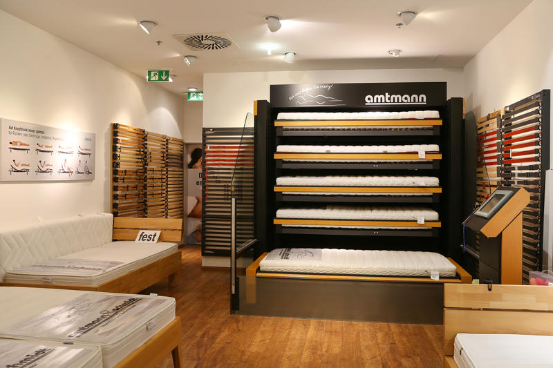 amtmann schmidt matratzen und bettenh user centrum f r gesundes liegen matratzen in. Black Bedroom Furniture Sets. Home Design Ideas