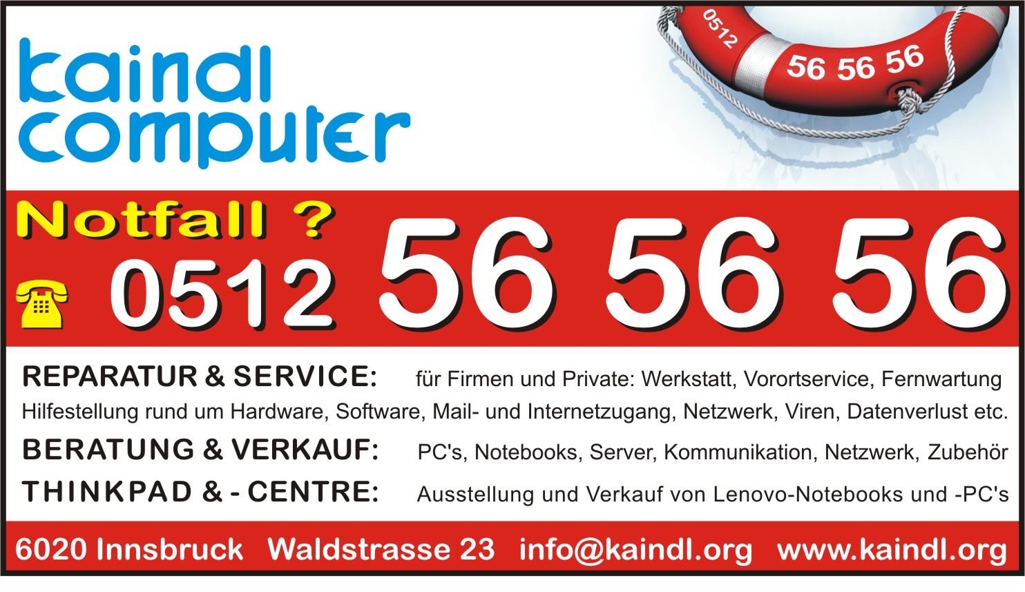 Kaindl Computer Watronic-Reparaturen Service Verkauf