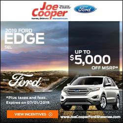 Joe Cooper Ford Shawnee >> Joe Cooper Ford Shawnee In Shawnee Oklahoma 74804 405 273 7701