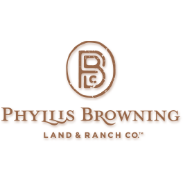 Phyllis Browning Company - Land & Ranch Co.™ Logo