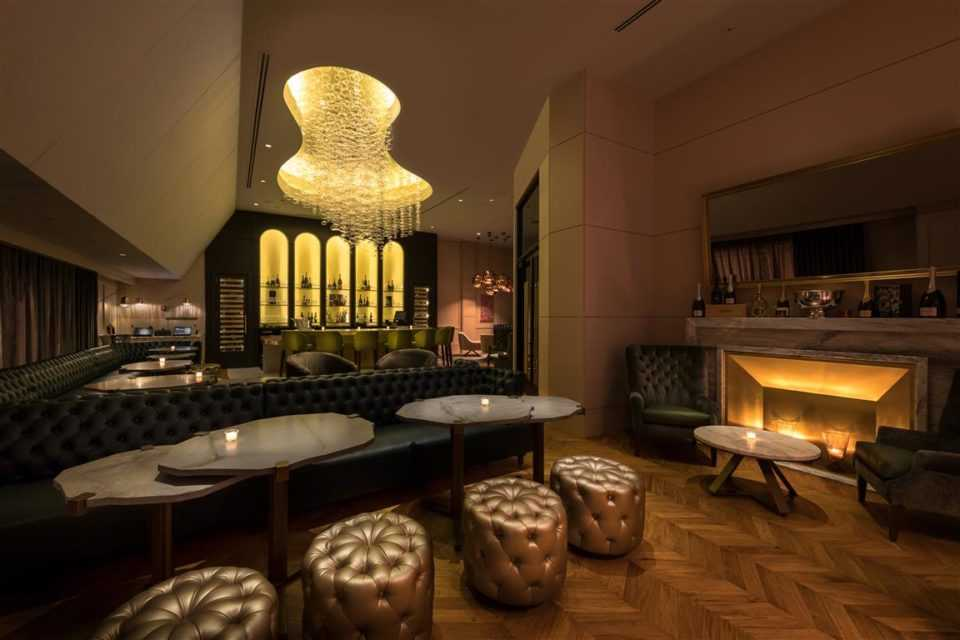 Del Frisco's Double Eagle Steakhouse Chicago Esquire Champagne Room private dining room