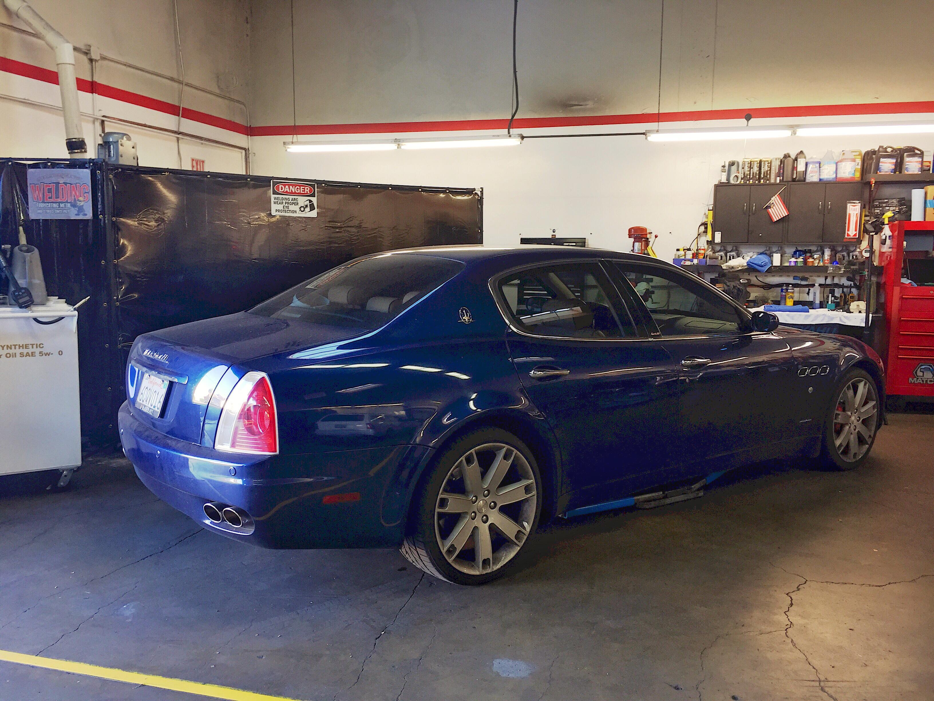 Ecar garage palo alto california ca for Park avenue motors mercedes benz palo alto
