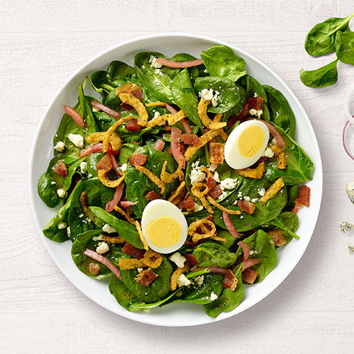NEW! Spinach, Bacon and Poppyseed Salad Panera Bread Mount Laurel (856)234-1009
