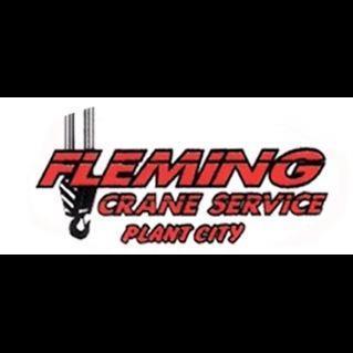 Fleming Crane Service - Plant City, FL 33565 - (813)752-6718   ShowMeLocal.com