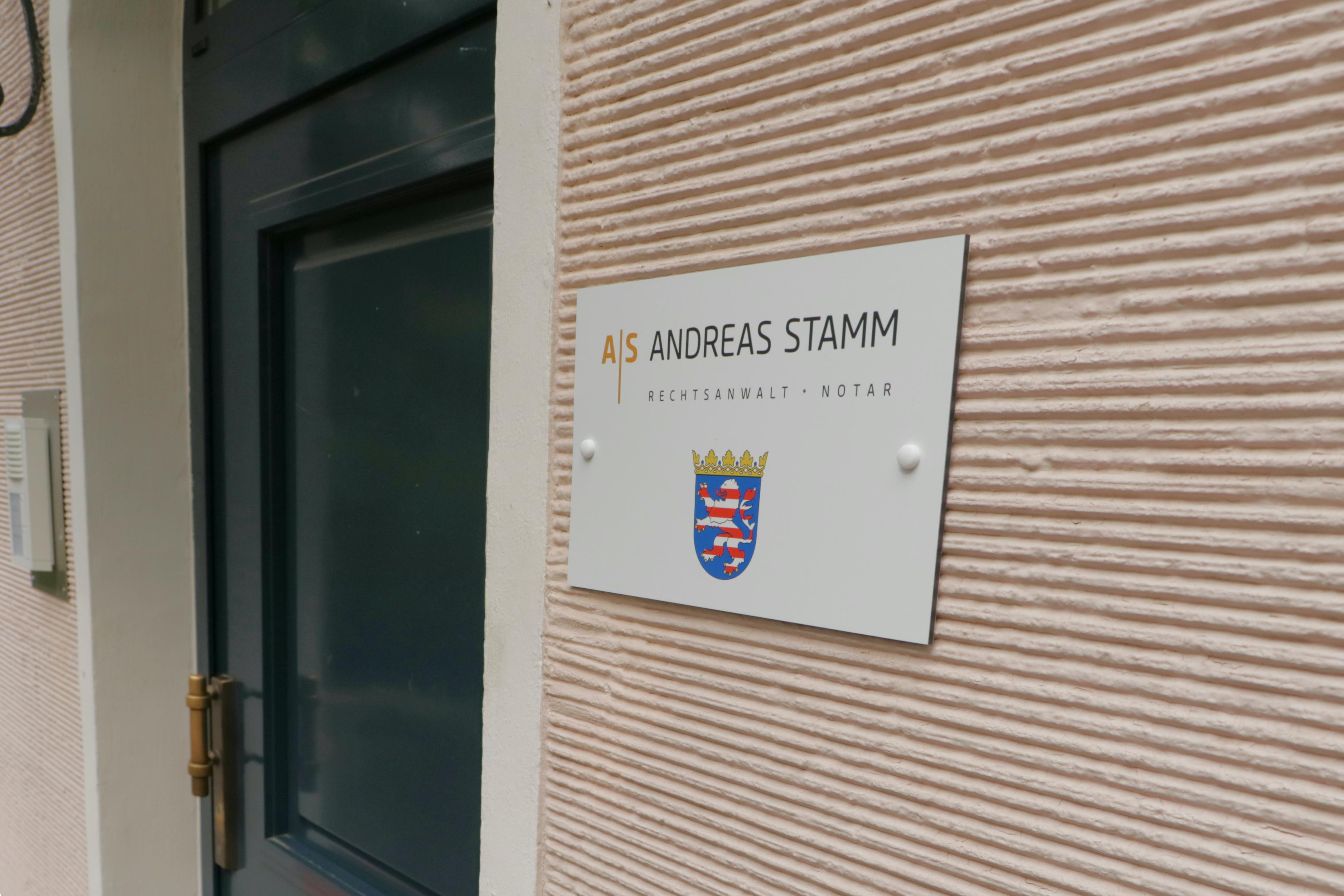Andreas Stamm – Rechtsanwalt & Notar Wiesbaden
