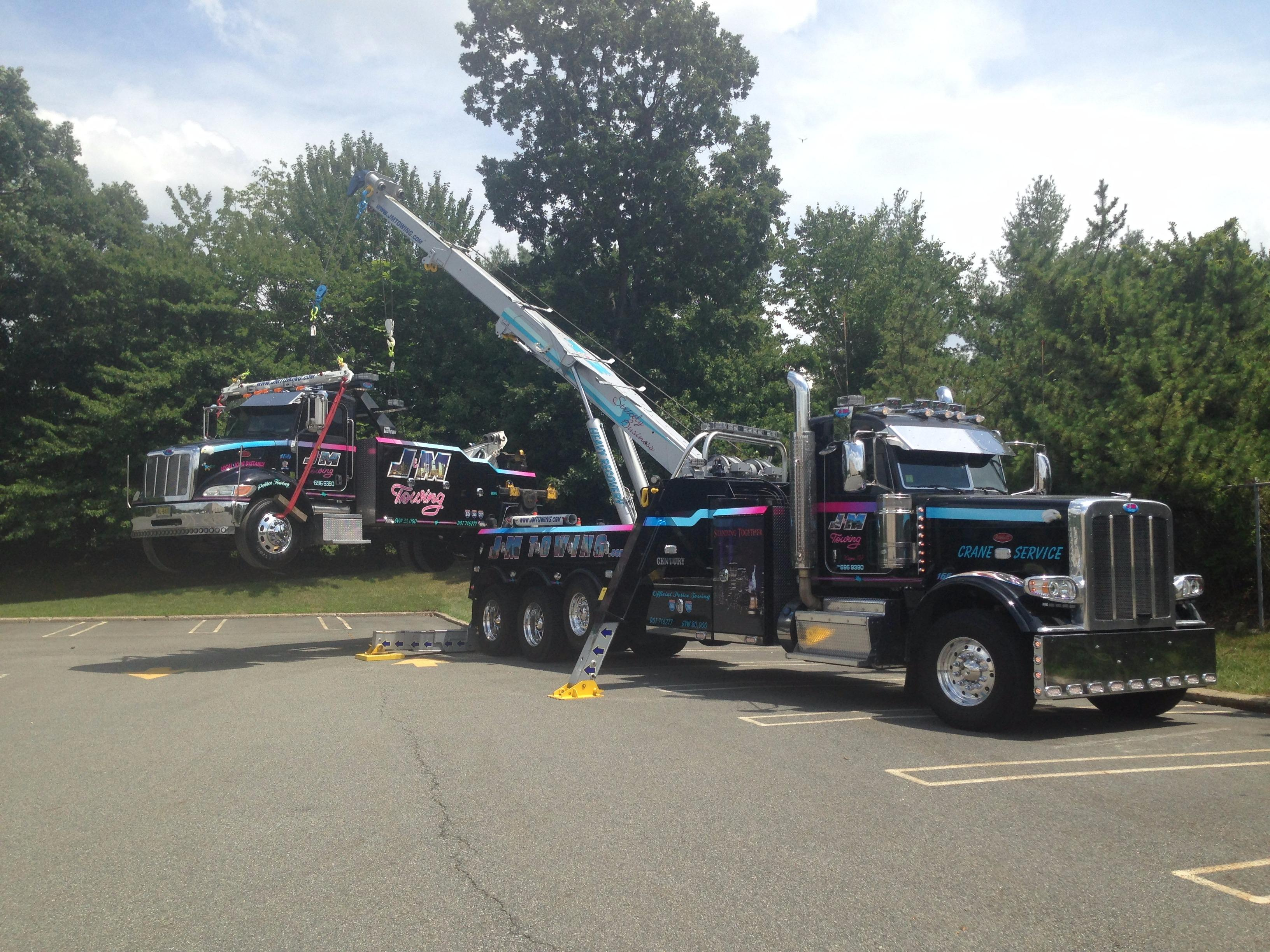 J M Towing Wayne New Jersey Nj