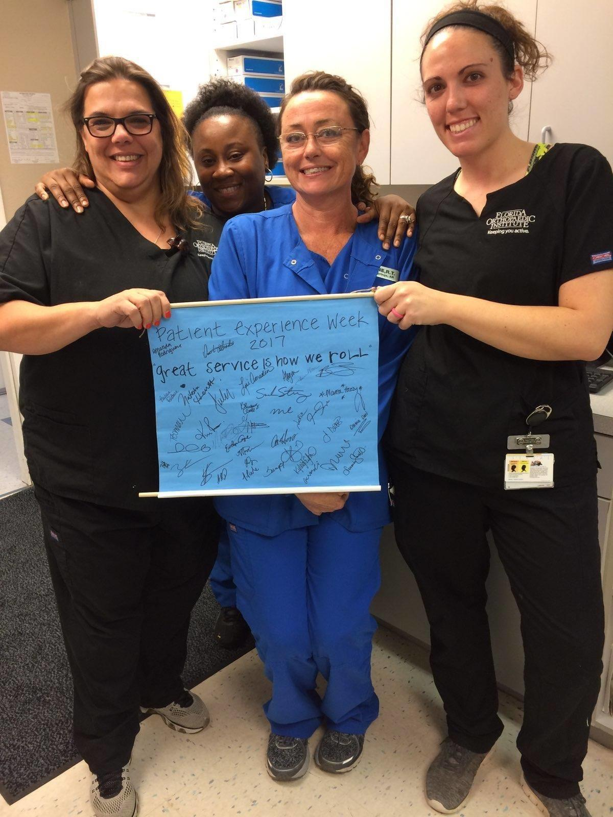 National Customer Service Week - Patient Experience