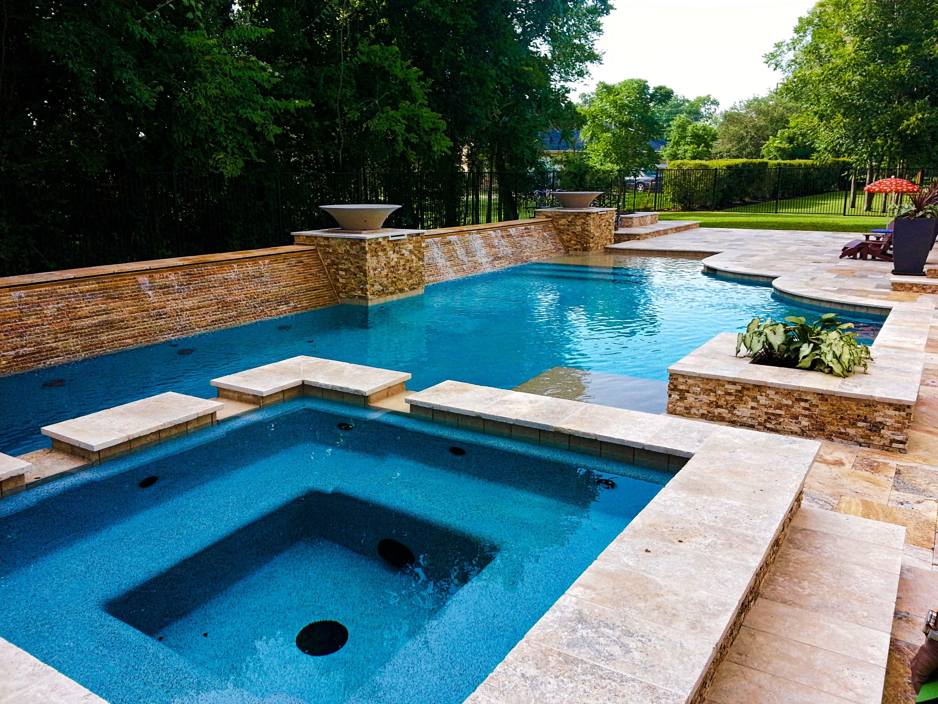 Eckel pool concepts in missouri city tx 77459 for Pool design concepts