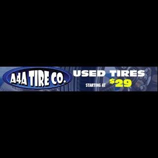 A4A Tire Co #1