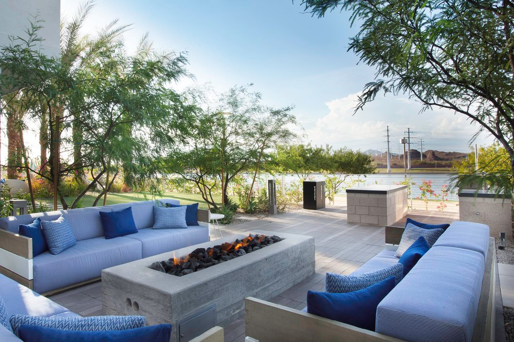Soft Seating and Outdoor Dining Areas with BBQs SALT Tempe (833)871-8434