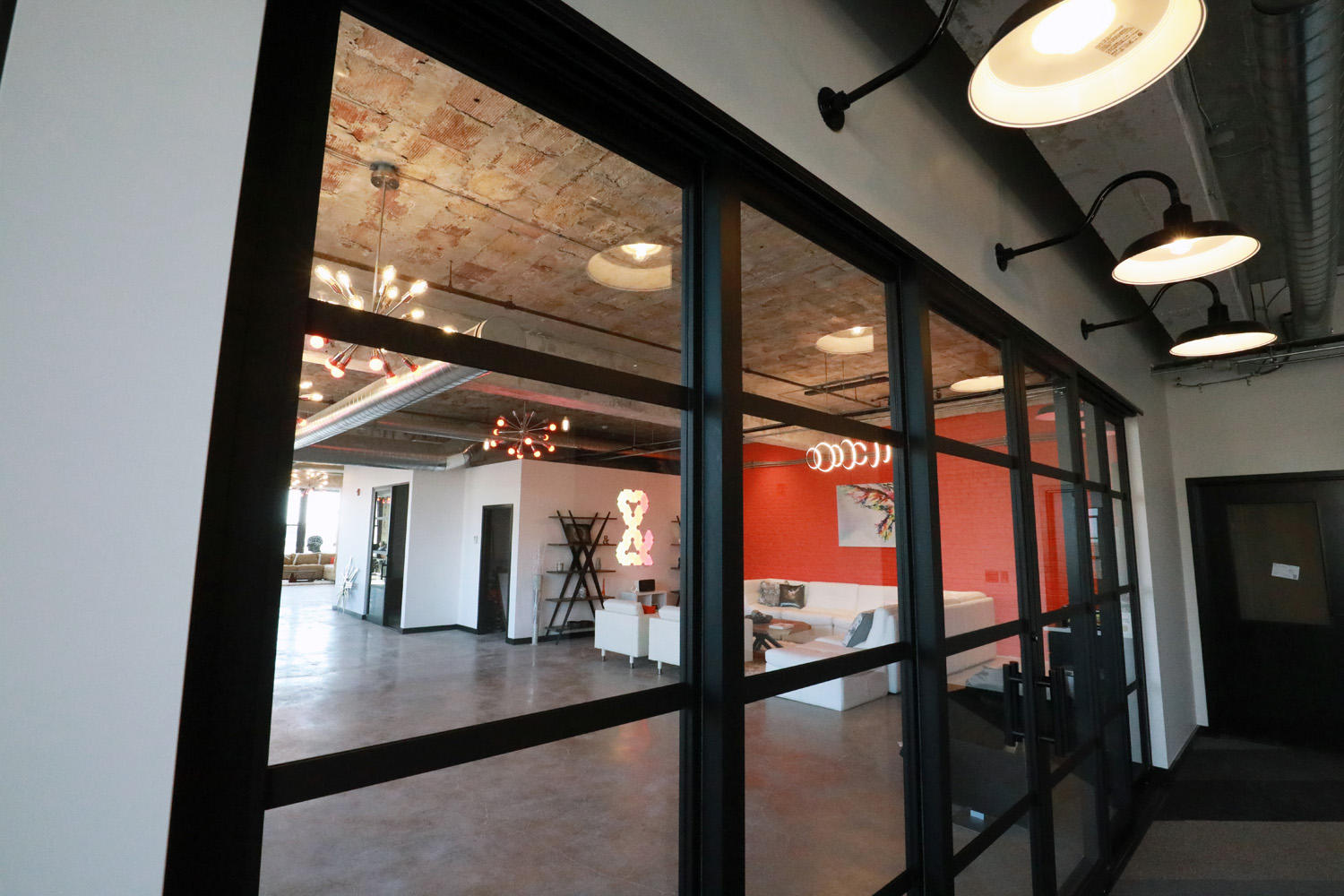 The interior of Web Design and Company, St Louis marketing company office. Web Design and Company St. Louis (314)499-8253
