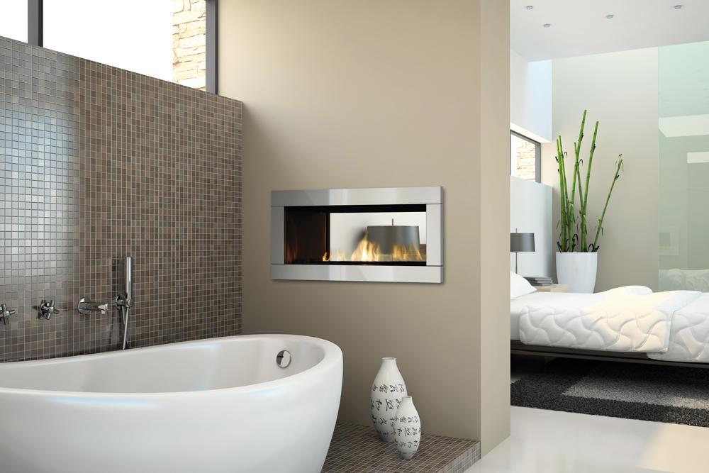 Fireplace Gallery in Edmonton: Regency Horizon HZ42ST - See Through Contemporary Gas Fireplace