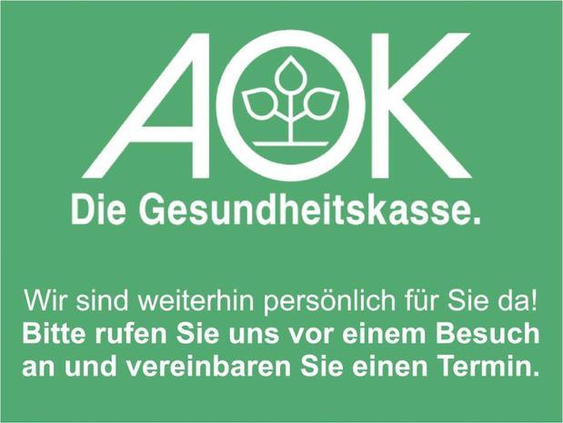 Kundenbild groß 1 AOK - Die Gesundheitskasse - KundenCenter Mosbach
