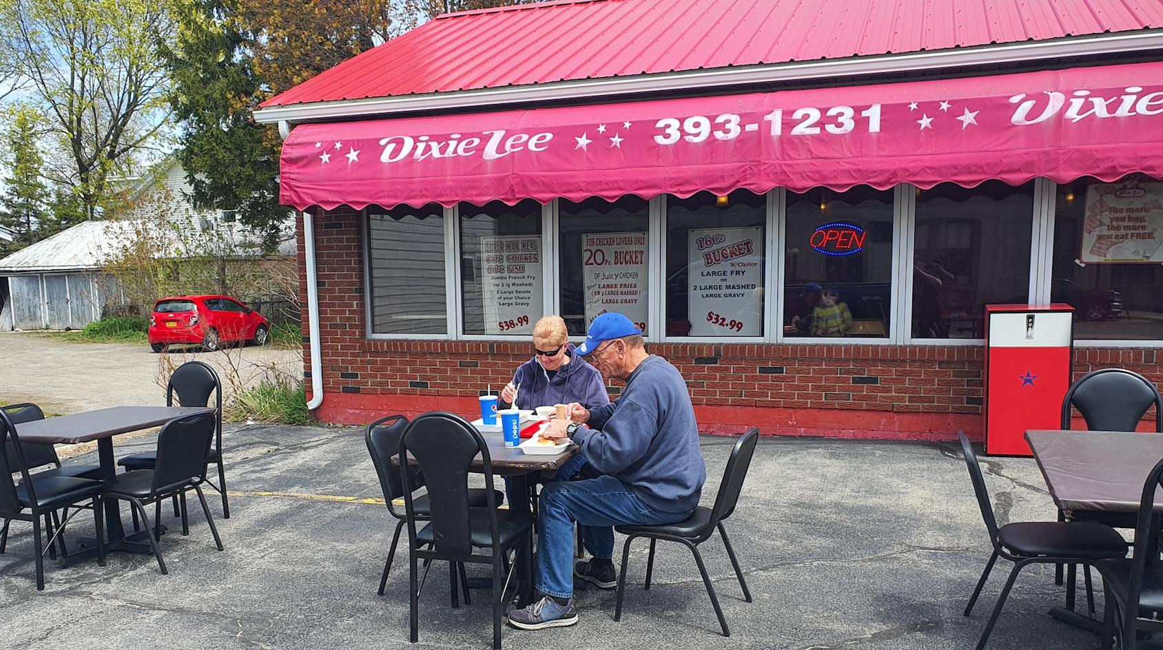 Dixie Lee Fried Chicken   Fast Food Fried Chicken Restaurant