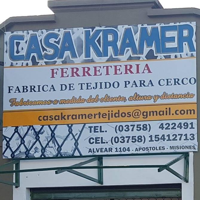 CASA KRAMER FERRETERIA - FABRICA DE TEJIDO PARA CERCO