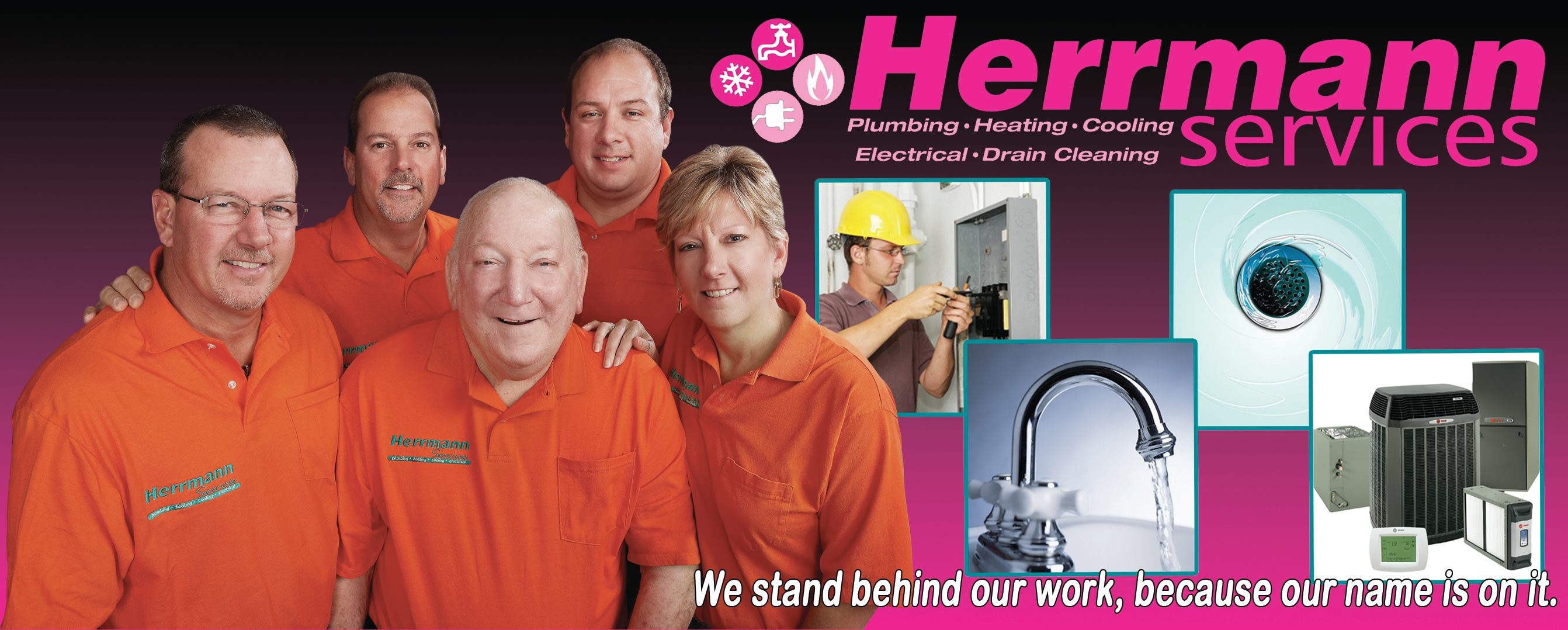 Herrmann Services can repair and service the furnace or heat pump in your Cincinnati area home. Regardless of the season or the temperature outside, we can make your home feel perfectly comfortable inside. Whether you need furnace, air conditioner or