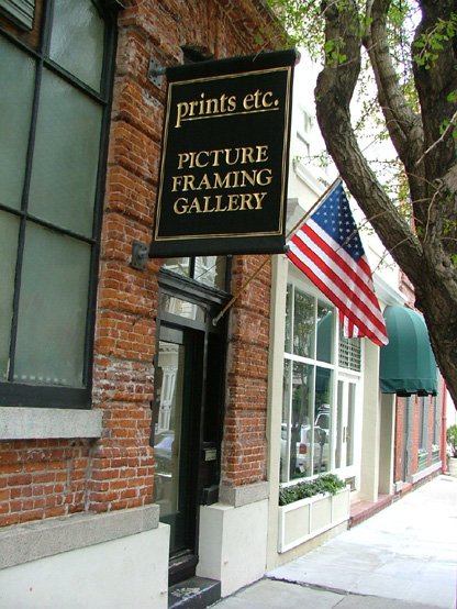 Prints Etc. Picture Framing Gallery