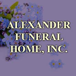 Alexander Funeral Home Inc.