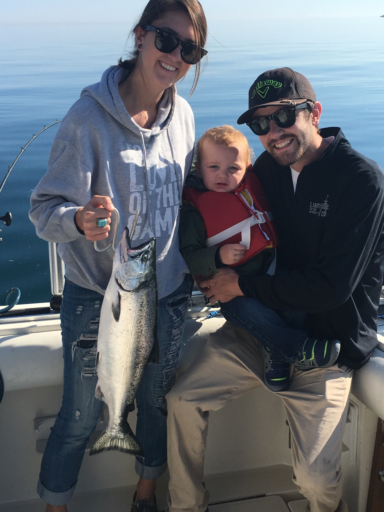 Jack 39 s charter service in milwaukee wi 53202 for Milwaukee charter fishing