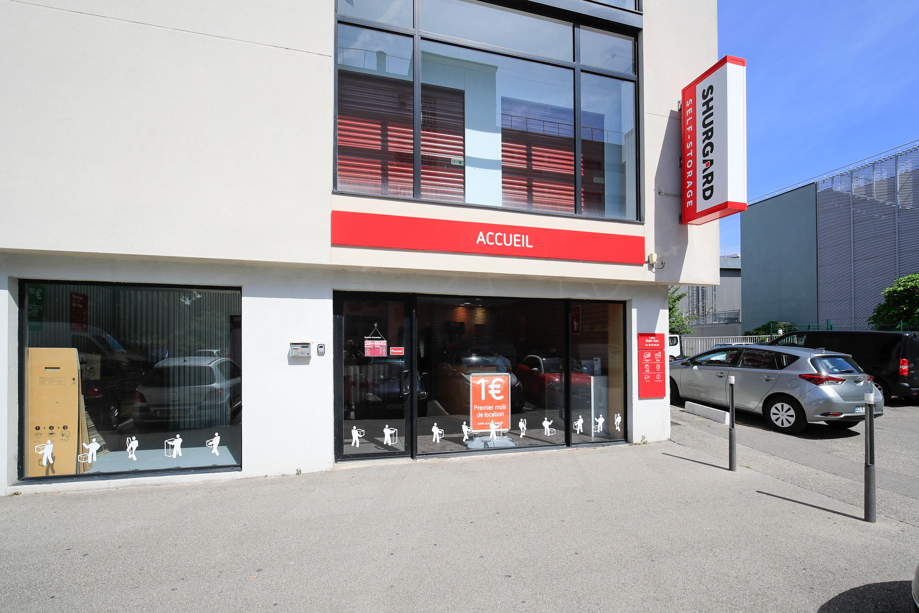 Shurgard Self-Storage Lyon Etats-Unis